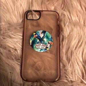 tech21 Accessories - tech21 phone case with pop socket